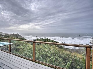 NEW! 'Serenity By The Sea' - Chic Oceanfront Home!