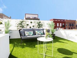 Home2Book El Faro de La Laguna, terrace & wifi