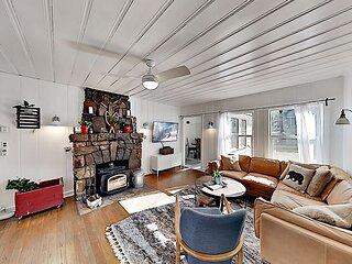 Enchanting Vintage Maltby Home | Near Ski Slopes & Lake | Walk to Dining
