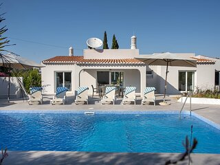 This fabulous villa is a short walk from Carvoeiro and the beach!