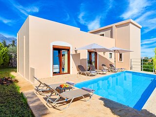 Cretan Residence with Private Pool & Sea View