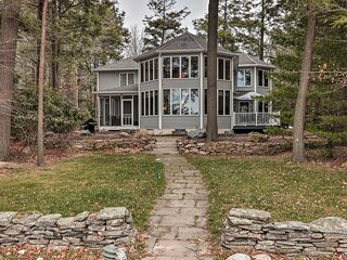 NEW! Luxe Escape on Lake Towamensing w/ Game Room!