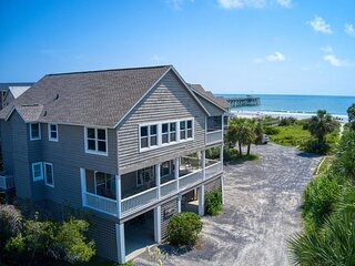 Rare Private Pool Beach House w/Oceanfront View on Pawleys Island, Dog Friendly