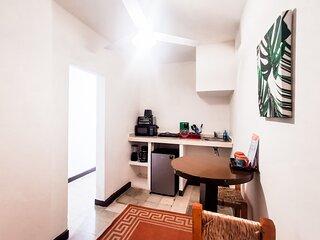 Tropicus 10 zona Romantica Habitacion Simple con Cocina y terraza