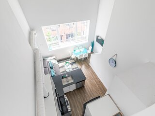 Simply Comfort.DISINFECTED 2Br Amazing Loft Free Parking. Gym