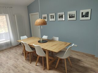 '2er-fewo' - Holiday home for 6 people in Weimar, quiet, central, parking