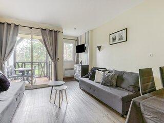 Birdie - Appartement avec piscine - plage Deauville a 2 km