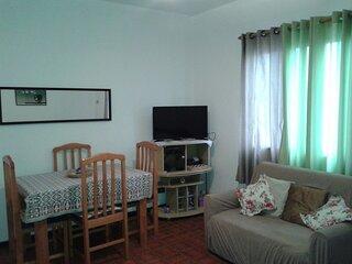 Apartamento Inteiro na Praia das Asturias, Guaruja -SP