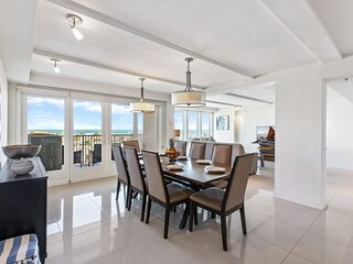 Oceanview perfection! Spacious condo in beachfront resort. Pet Friendly
