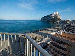 Gran Sol Apartamento con vistas frontales al Mar Mediterráneo en Playa La Fossa