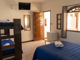 Suite ate 5 pessoas - Hostel Pousada Los Pibes de Flores