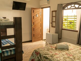 Suite ate 5 pessoas - Beach Hostel & Suites Los Pibes de Flores