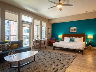 Kasa | Denver | Comfy Studio Riverfront Apartment