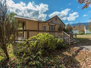 Toe River Cozy Cottage | Pet-Friendly with Covered Deck & Gas Grill!