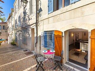 Le Baletti - Un Duplex au Calme dans une Jolie rue Fleurie