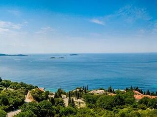 Villa Panorama - Plat - Superior One Bedroom Apartment with Terrace and Sea View
