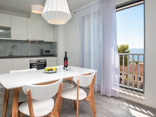 Dva Galeba - One Bedroom Apartment with Partial Sea View (105)