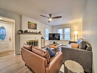 Charming Home w/Brand New Amenities, 2 Mi to Town!