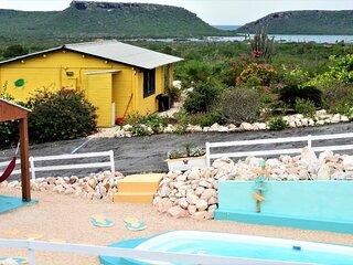 Amazing View Bungalows met jacuzzi en zwembad, uitzicht, comfort en privacy