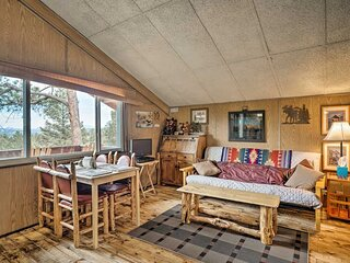 Cozy Bear Cabin with Mountain Views