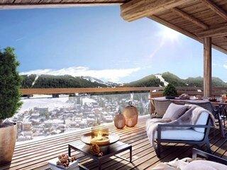 Appartement de très beau standing, belle exposition, proche centre