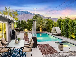 Demuth Park Home - Backyard Paradise with Pool, Spa, Firepit & Dining Space