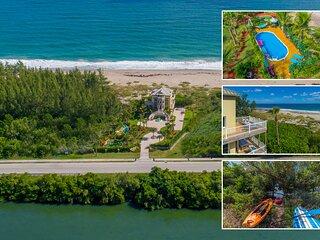 Bella Vista: 7BR/5BA, Ocean-to-River.Directly *ON* Beach. < $100/night  /bedroom