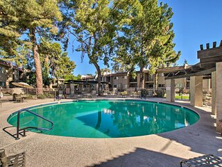 NEW! Quiet Condo - 1 Mile to Old Town Scottsdale!