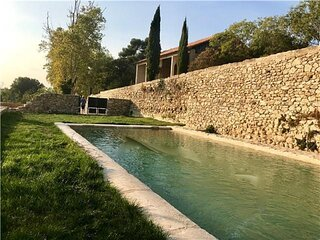 A MAGICAL 18th CENTURY FRENCH STONE BASTIDE IN LUBERON-RELIVING HISTORY IN STYLE