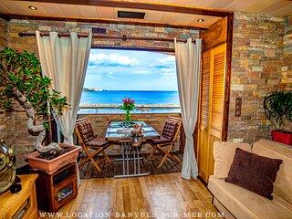 Appartement vacances Banyuls sur Mer standing vue mer proche plage et commerces