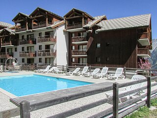Stunning apartment in Puy St Vincent with Outdoor swimming pool and 2 Bedrooms (