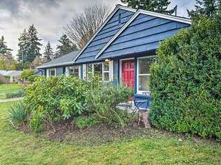 NEW! Shoreline Home - 10.5 Mi to Downtown Seattle!