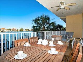 Bay Harbor 202 WOW balcony views! Professionally decorated condo for the family