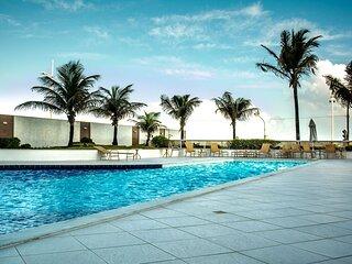 Apartamento em Salvador de frente para o mar