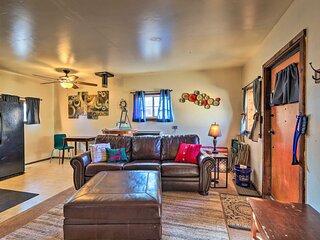 NEW! Flagstaff Home w/ Fire Pit, ~ 3 Mi to NAU!