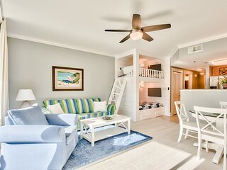 Waterscape 3rd Flr  1 Bedroom with Courtyard views - on the beach - New!
