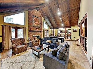 Gated De Portola Villa | Private Pool & Spa | Home Sauna & Billiard Table