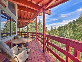 NEW! San Bernardino Mountain Cabin w/ Deck & View!