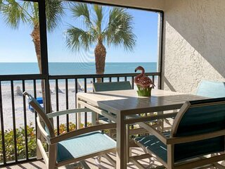 Perfect Slice of Paradise. Direct Beachfront. Heated Pool & Hot Tub. Spectacular