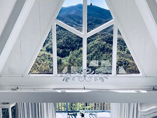 A frame Home with Million Dollar View, Franklin, NC.