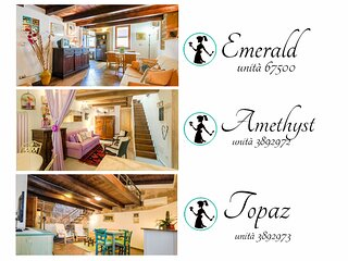 Best located in ALGHERO OLD TOWN! Attic EMERALD, steps to sea, 3 min. to beach!