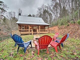 Private Blue Ridge Cabin w/ Hot Tub & Fire Pit!