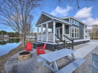 NEW! Blue Ridge Mtn Escape: Tiny Home in Resort!