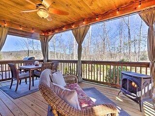 NEW! Modern Glenville Forest Cabin w/ Grill & Deck