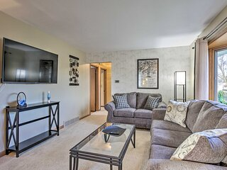 NEW! Cheerful Rochester Retreat w/ Workout Room!