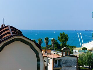 Neverending Sea Luxury Apartment in Salerno center