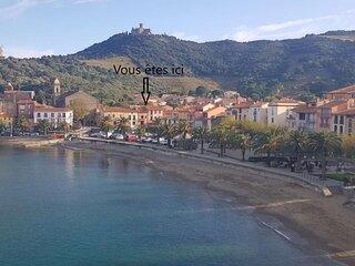 Coquet appartement pour 6 personnes avec vue panoramique sur le port 6COMA1