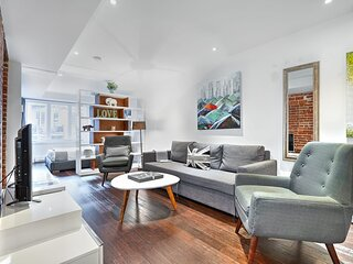 Liv MTL Save 60% Soho 6 Luxurious 1Br Rooftop Family + Pet Friendly*