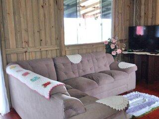 Casa Aconchegante próximo à Praia de Ibiraquera (disponível temporada)