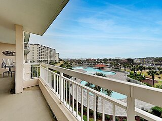 North Tower Condo   Private Balcony with Waterway Views   Pool & Hot Tub
